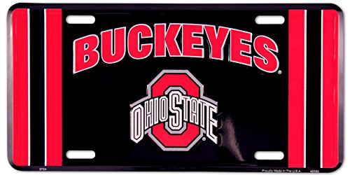 (Ohio State Buckeyes Metal License Plate)