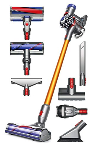 Dyson V8 Absolute Cordless HEPA Vacuum Cleaner + Manufacturer's Warranty + Extra Mattress Tool Bundle