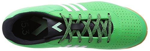 adidas Ace 15.3 CT - Botas para hombre Verde / Blanco / Gris