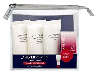 SHISEIDO MEN MY TRAVEL ESSENTIALS 4 PRODUCTOS: Amazon.es ...