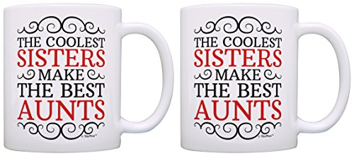 Gifts Coolest Sisters Sister Coffee