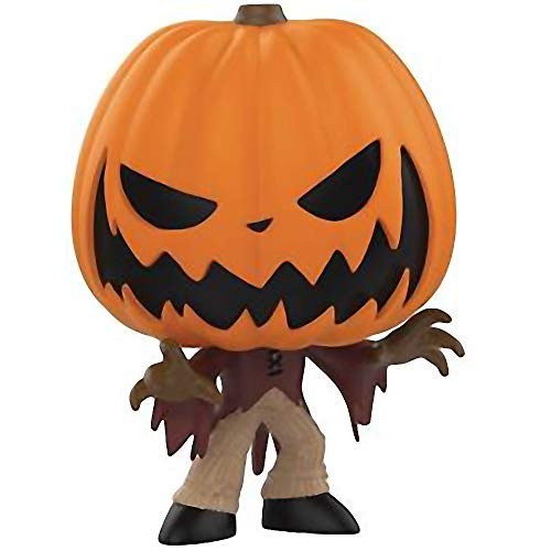 Funko Pumpkin King Jack: The Nightmare Before Christmas x Mystery Minis Mini Vinyl Figure & 1 PET Plastic Graphical Protector Bundle [32850]
