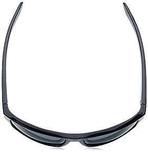 Arnette Men's Boxcar Polarized Rectangular Sunglasses, Black, 59 mm
