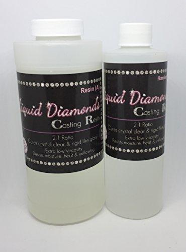 Liquid Diamonds Epoxy Resin 24 oz Size