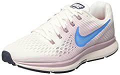 LIGHTWEIGHT AND FAST Built for beginners and experienced runners, the Nike Air Zoom Pegasus 34 Women's Running Shoe features an updated, lighter Flymesh material that helps reduce heat buildup when you run. The tried and true cushioning and s...