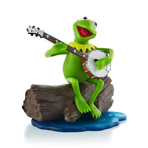 Kermit the Frog ''The Rainbow Connection'' The Muppets 2013 Hallmark Ornament