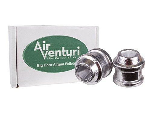 Air Venturi .50 Cal, 185 Grains, Hollowpoint, 50ct ()