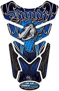 Motografix Protection de r/éservoir Street Style 4pcs Bleu Suzuki Bandit