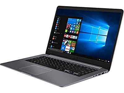 "ASUS VivoBook Ultra-Thin and Portable Laptop, 15.6"" FHD Display, 8th Intel Core i5-8250U Processor, 8 GB DDR4, 256 GB SSD, NVIDIA GeForce MX150, NanoEdge Bezel, Backlit keyboard, Fingerprint sensor"