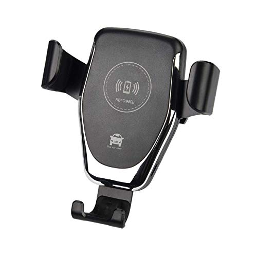 Fast QI Wireless Car Charger, FNSHIP 360 Degrees Rotating Car Bracket Air Vent Dashboard Mount, for Apple iPhone Xs Xr 8, Samsung Galaxy S9/S8 Plus Note 8/9 LG Nexus and M, Plus Q