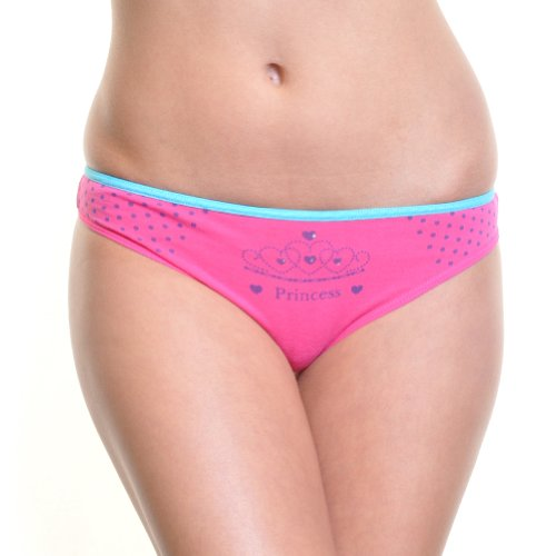 Angelina 12-Pair-Pack Junior Cotton Panty, #1246
