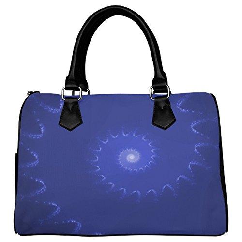 Jasonea Women Boston Handbag Top Handle Handbag Satchel Amazing Fractal Basad193455
