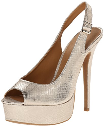 Chinese Laundry Women's Abba Snake Dress Pump, Light Gold...