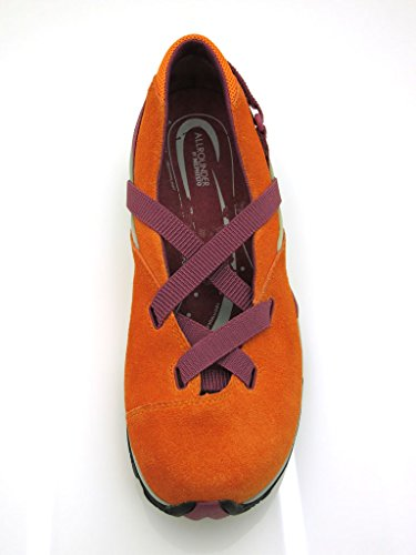 orange cuir Mantra Allrounder femmes ballerines Ballerines pour en Mephisto Ballerines by rq8gPnzqv