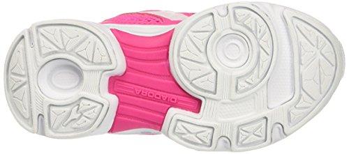 Diadora Shape 7 V Jr, chaussures de course mixte enfant - Multicolore, 32 EU