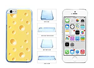 Block of Swiss Cheese Clear Plastic Phone Case Back Cover Apple iPhone 6 (4.7 Inches)