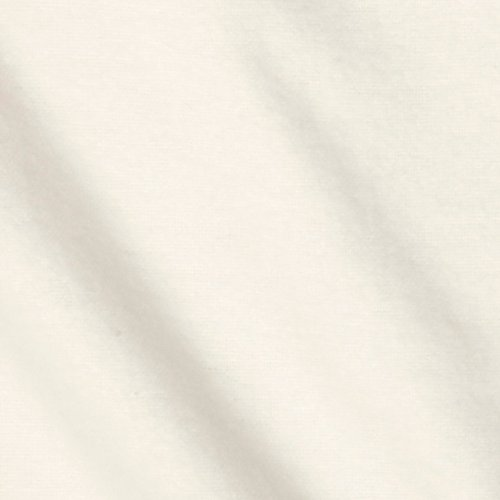 Hanes Drapery Lining Heavy Flannel White Fabric By The ()