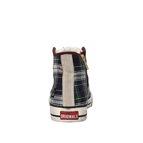 D.a.t.e. Date Sneakers Damen 37 EU Multicolor Textil Wildleder