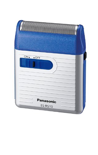 Panasonic Men's Shaver for Traveler ES-RS10-A Blue | DC3V