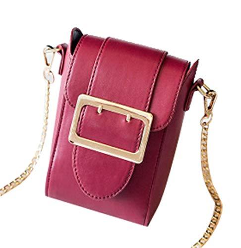 Bolsos Elegante Pequeña Bolsa Mensajero Shoulder Rojo Fiesta Hombro Bag Saino De Simple Bolso nbsp;ligero Juveniles Bandolera Mujer 8wBUnqX