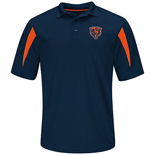 NFL Chicago Bears Adult men NFL Plus S/Synthetic - Chicago Store Polo