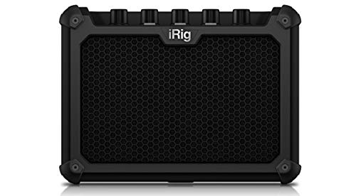 IK Multimedia iRig Micro Amp 15W Battery-Powered Guitar Amplifier with iOS/USB Interface (IP-iRig-Microamp-In)