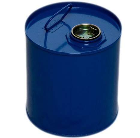 Air Sea Containers 1.32 Gallon / 5 Liter Tight Head Steel Drum Epoxy Lined, 2'' opening. PG I,II,III rated ( X RATED )