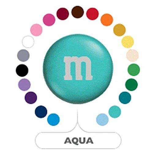 M&M's Aqua Milk Chocolate Candy 1LB Bag