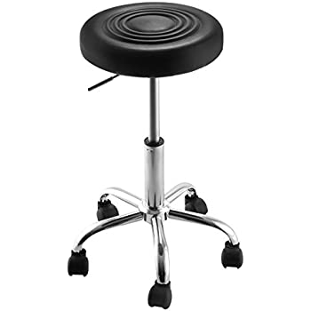 Super buy Black Adjustable Rolling Bar Stools Swivel Hydraulic Chair Stool Facial Massage  sc 1 st  Amazon.com & Amazon.com: Performance Tool W85027 Pneumatic Rolling Bar Stool ... islam-shia.org