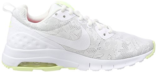 Nike Damen W Air Max Motion LW Eng Sneaker Weiß (White/barely Volt/racer Pink)