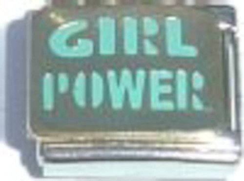Girl Power Italian Charm