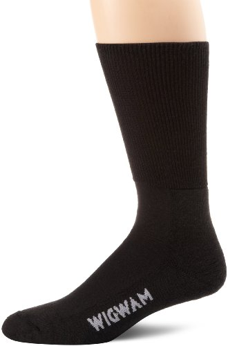 Diabetic Seamfree Socks (Wigwam Men's Diabetic Strider Socks, Black, Large)