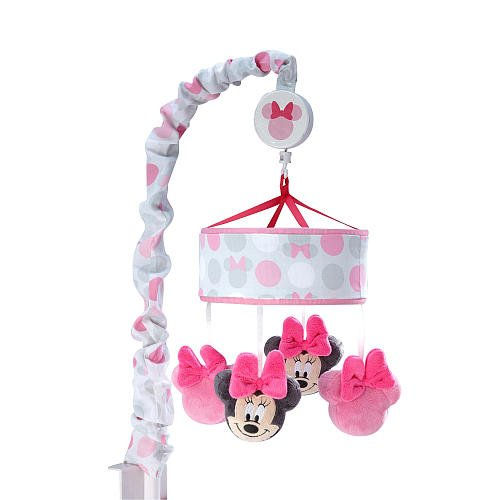 Disney Baby Minnie Mouse Polkadots Musical Mobile