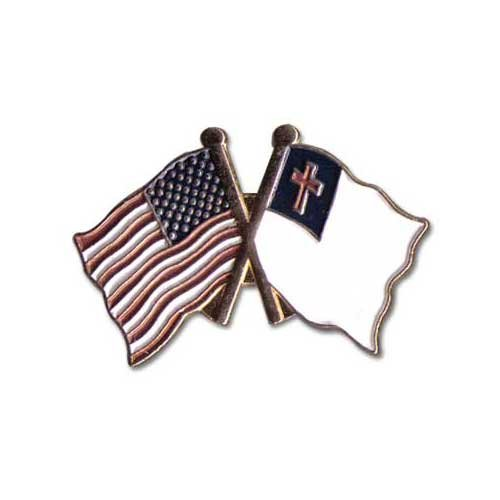 US Flag Store Lapel Pin USA and Christian - Shops Online Usa