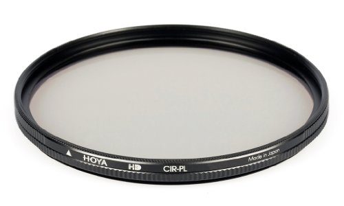 Hoya 62mm Circular Polarizer HD Hardened Glass 8-layer Multi-Coated Filter by Hoya