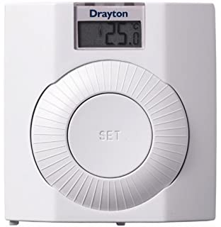 Drayton rf601 rf wireless room thermostat with digital display drayton 30002 digistat plus room thermostat asfbconference2016 Image collections