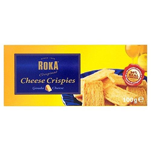 Roka Cheese Crispies 100g - Pack of 6 - Roka Gouda Cheese