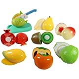 Liberty Imports Kitchen Fun Cutting Fruits Super Food Playset for Kids