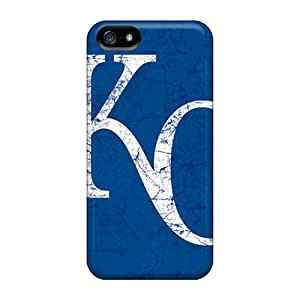 Excellent Design Kansas City Royals Phone Case For Iphone 5/5s Premium Tpu Case