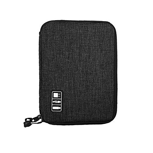 Price comparison product image Weiye Electronics Accessories Organizer,  Waterproof Portable Cable Organizer Bag, Travel Gear Carry Bag iPad Cell Phone Accessories Cable Chargers