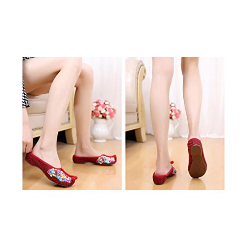 Chinoises Florales Chaussures Chinoises Chaussures Chinoises Brod Florales Brod Florales Brod Brod Florales Chinoises Chaussures Chaussures qw8Ezx