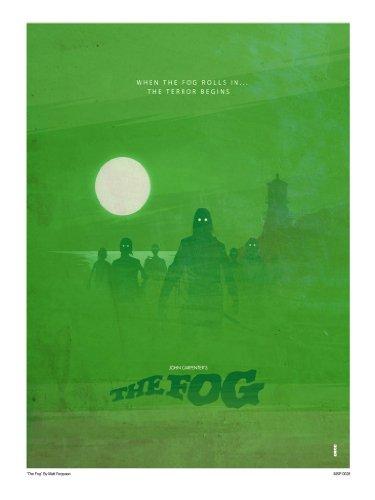 OnTheWall John Carpenters The Fog Art Print Poster by Matt Ferguson (MSP0028)