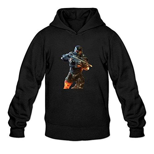 - Oryxs Men's Crysis Sweatshirt Hoodie M Black