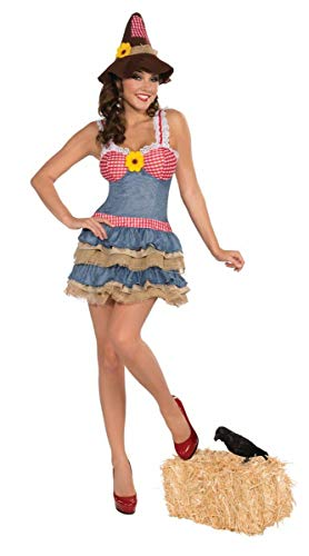 Forum Novelties Women's Sultry Scarecrow Costume, Multi, X-Small/Small