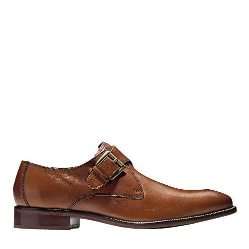 Cole Haan Men's Williams II Monk-Strap Loafer, British tan, 8 Medium US