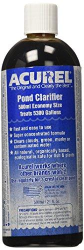 Acurel E500 Millimeter Pond Clarifier, Treats 5, 300 Gallons