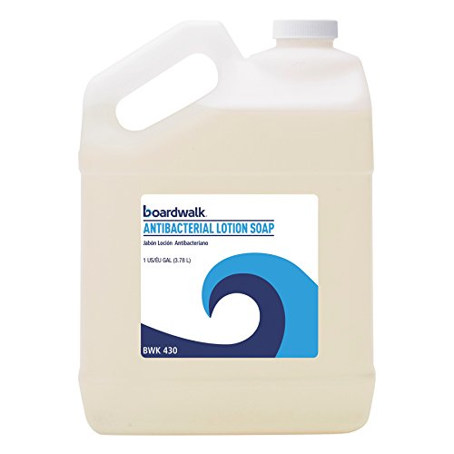 (Boardwalk 430EA Antibacterial Liquid Soap, Floral Balsam, 1gal Bottle)