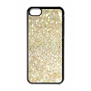 Silver Bling Use Your Own Image Phone Case for Iphone 5C,customized case cover ygtg592717
