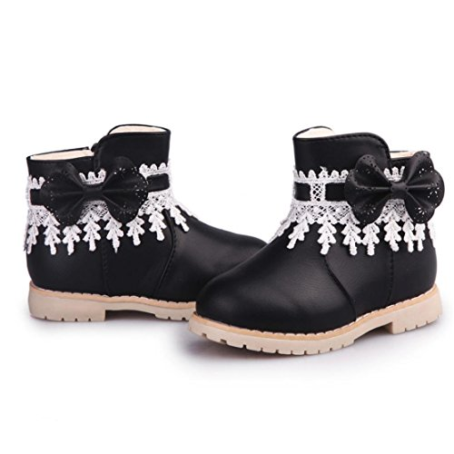 Price comparison product image Boots for Toddler Girls , DORIC Kids Fashion Warm Winter Anti-slip Booties Shoes