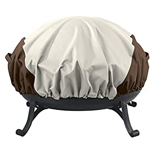AmazonBasics Round Fire Pit Cover, Small